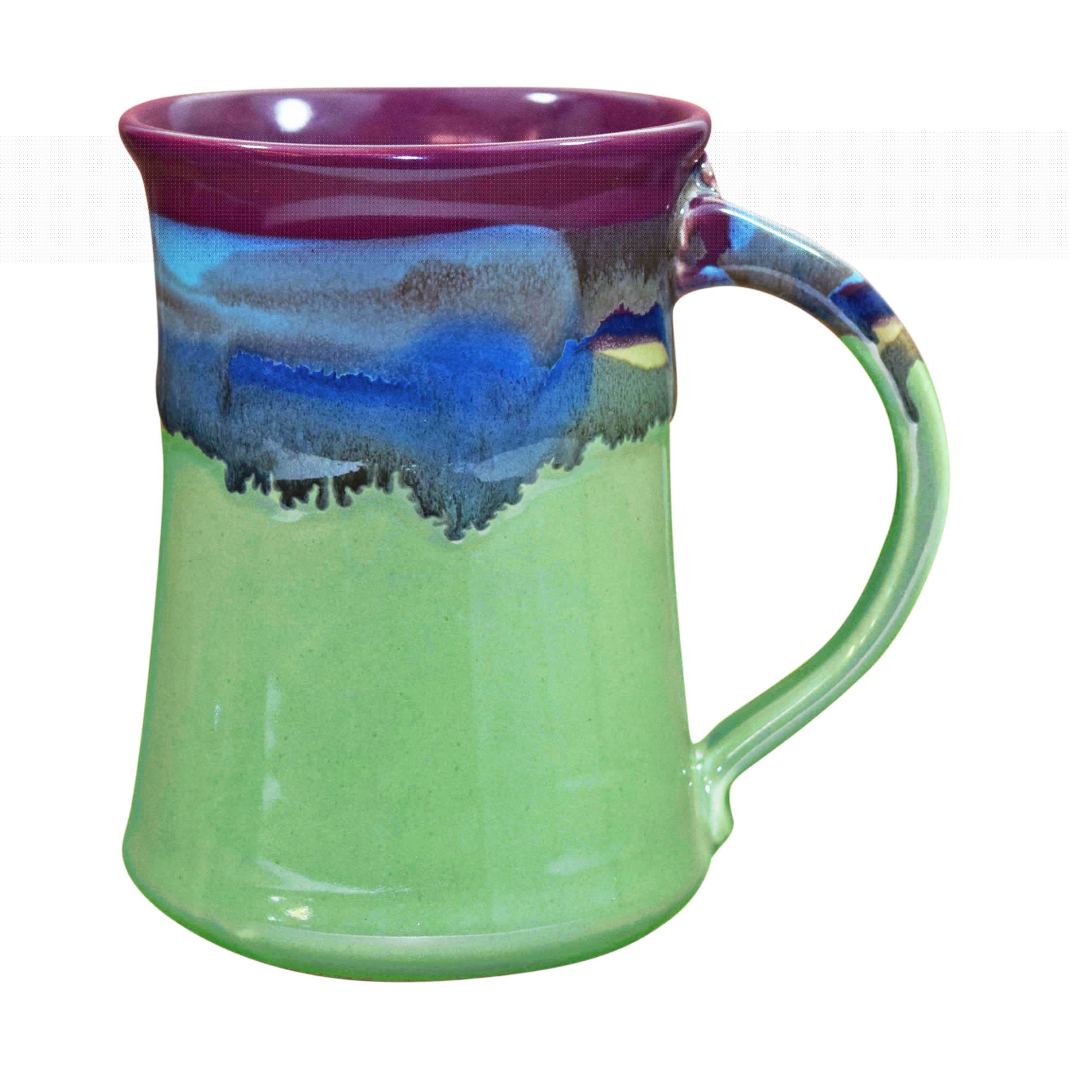 Clay in Motion 20 oz Mug - Large Handmade Pottery Ceramic ...