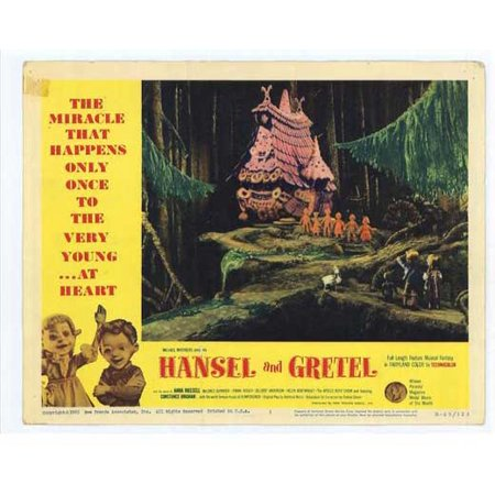 Hansel and Gretel POSTER Movie C Mini Promo (Hansel And Gretel Halloween Costumes)