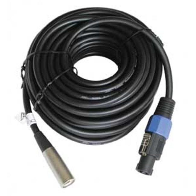 Audio2000s ADC283M-5 25 ft.  Speaker Cable Xlrm-Spkn- M  2Pin