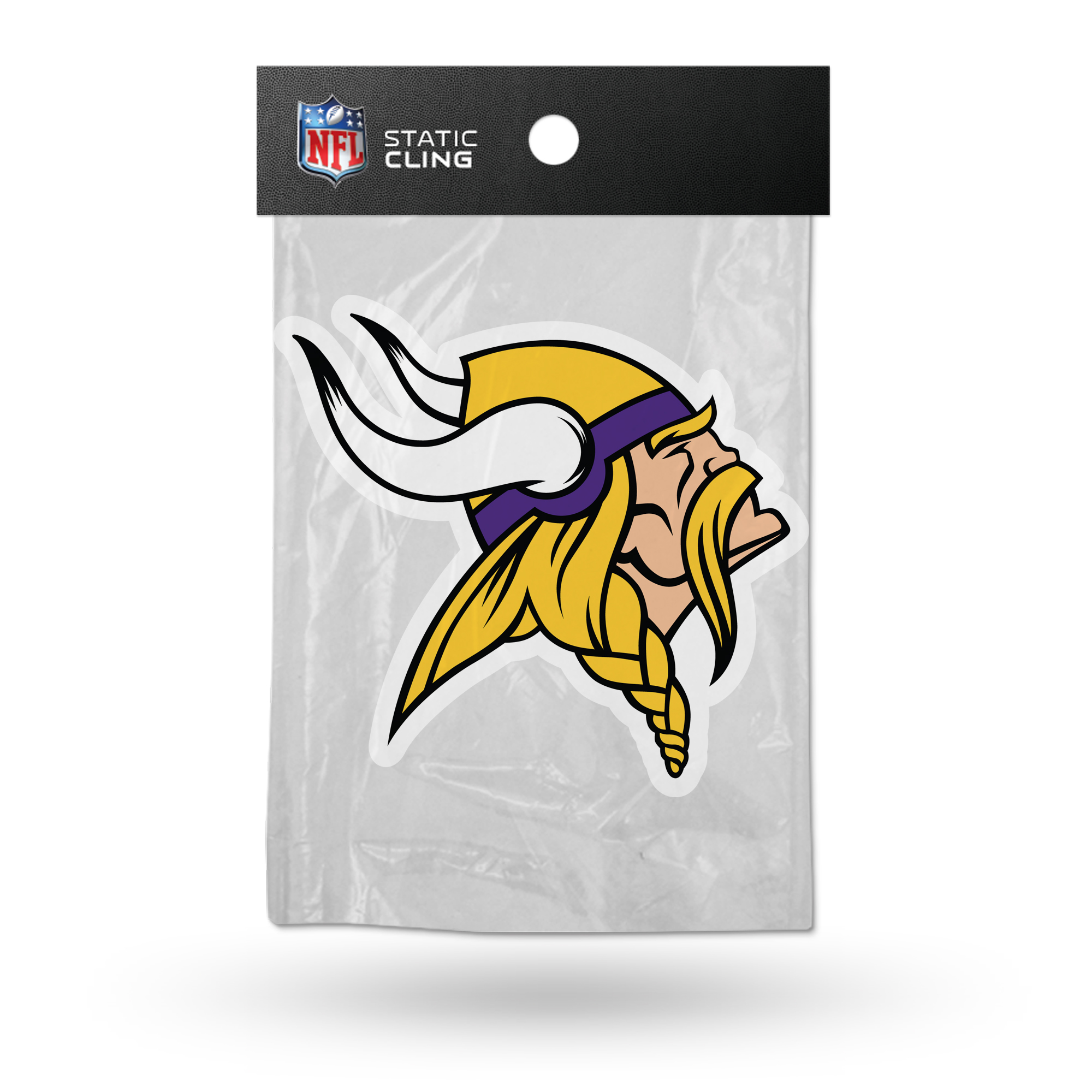 Minnesota Vikings Official NFL 5 inch  Car Window Cling Decal by Rico Industries