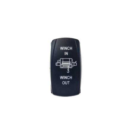 WINCH IN OUT SWITCH OZ-USA? BLUE LED Laser Rocker UTV TRUCK boat dash POLARIS RV Atv Winch Rocker Switch