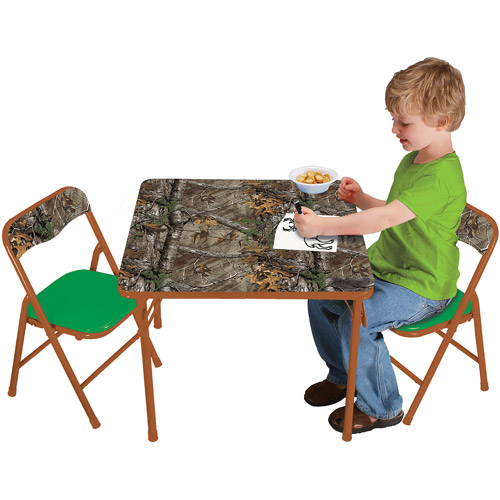 Real Tree Camo Activity Table and Chairs Set