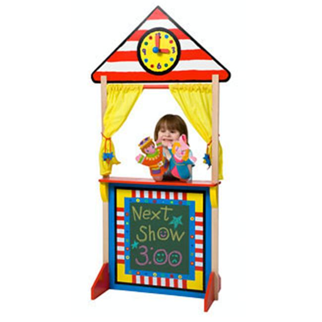 Alex Toys 23K Floor Standing Puppet Theatre with Clock by