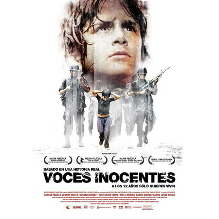 Innocent Voices (2004) 11x17 Movie Poster (Spanish)](Spanish Classroom Posters)