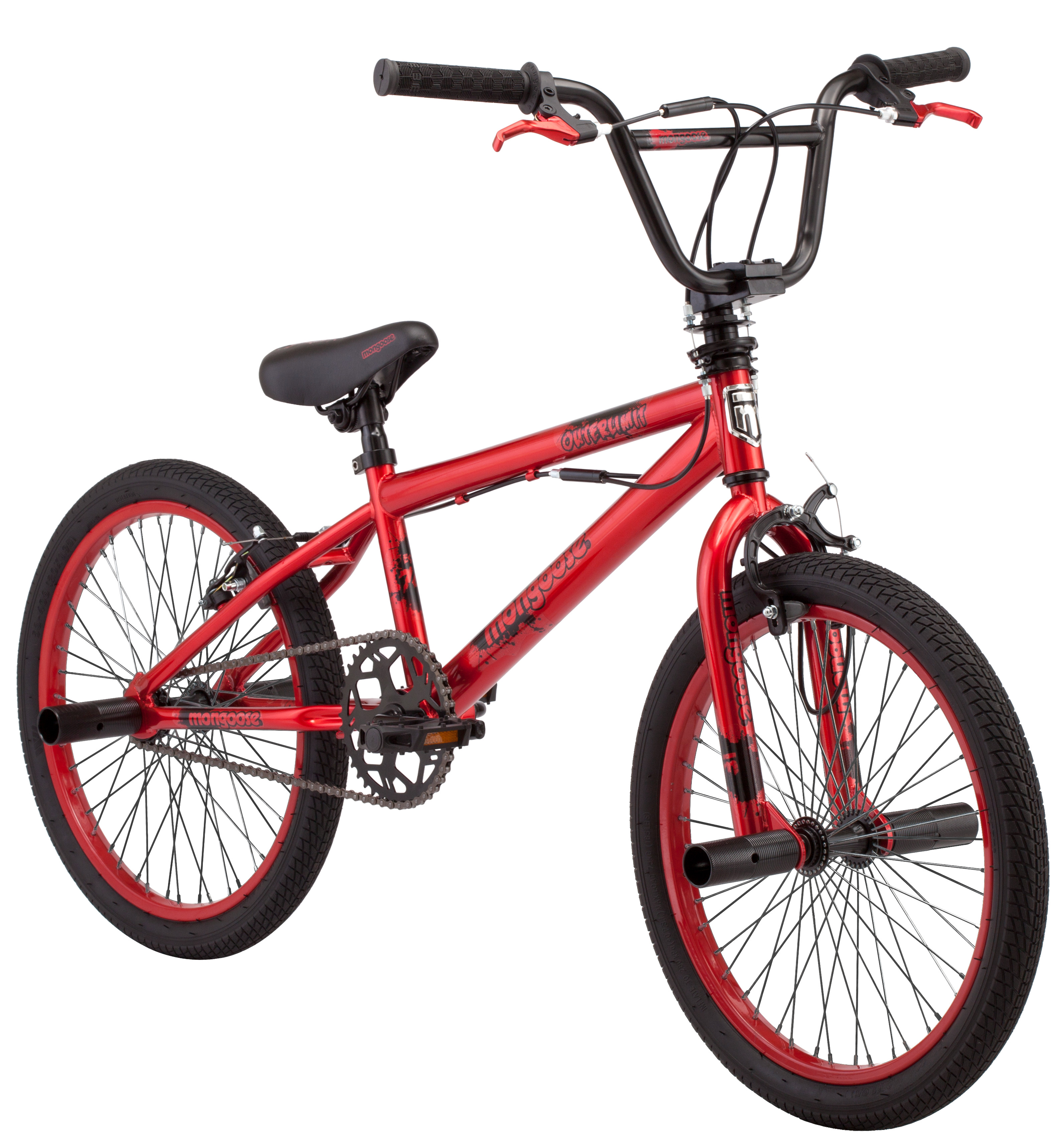 """Mongoose 20"""" Boy's Outerlimit BMX Bike by Pacific Cycle"""