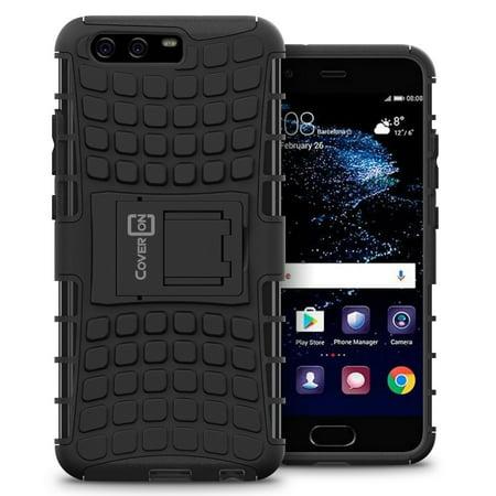 CoverON Huawei P10 Plus Case, Atomic Series Slim Protective Kickstand Phone Cover](huawei p10 plus price in usa)