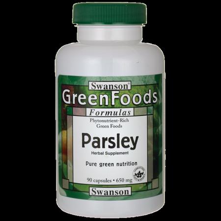 Swanson Parsley 650 mg 90 - 650 Mg Caps
