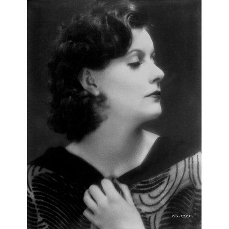 Garbo Tee (Greta Garbo in a Printed Top Photo)