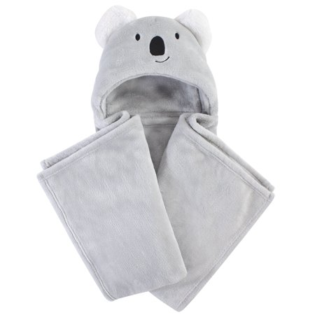Hudson Baby Hooded Plush Blanket, Koala