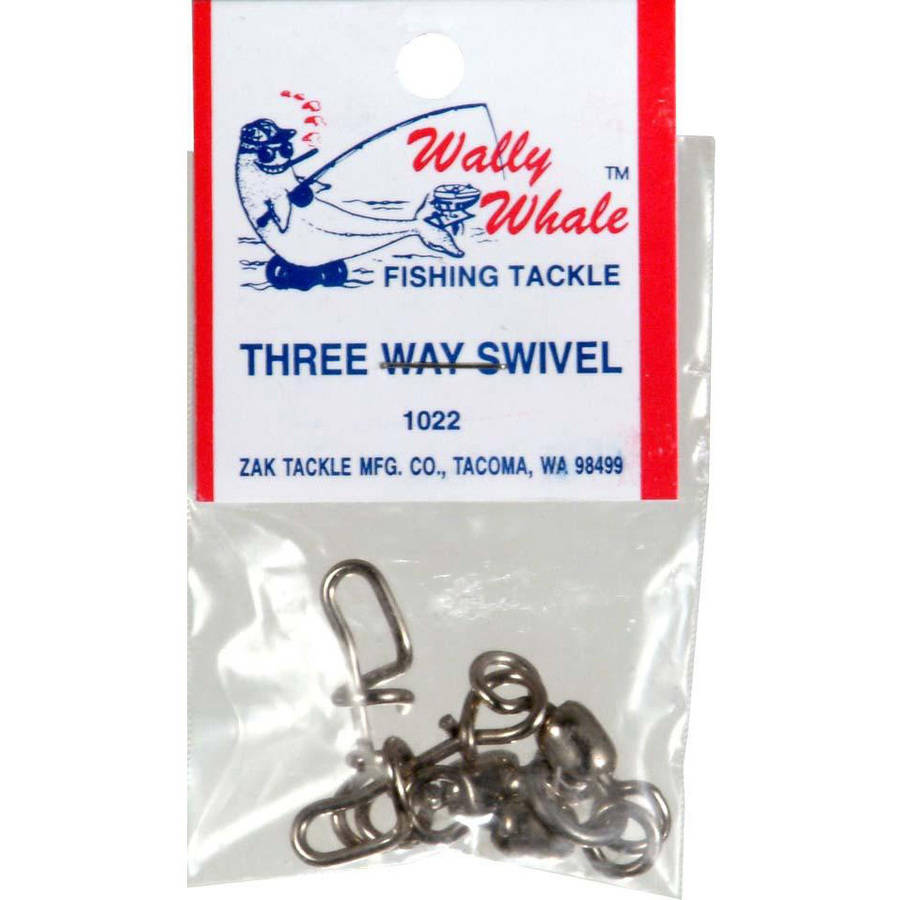 Zak Tackle Wally Whale 3-Way Swivel Z-WW1022