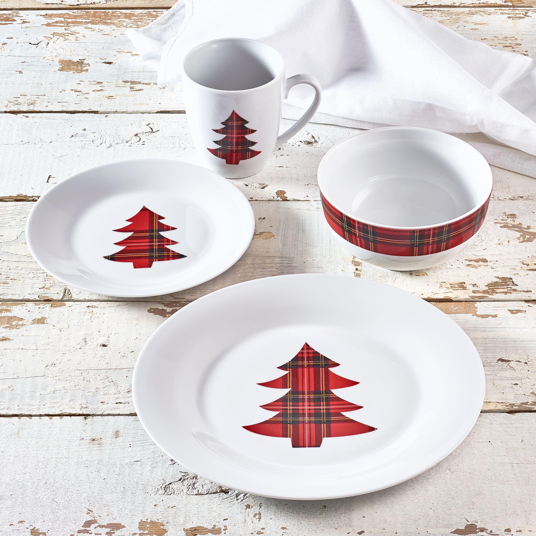 Walmart Housewares: Highlander 16-Piece Porcelain Dinnerware Set, Walmart