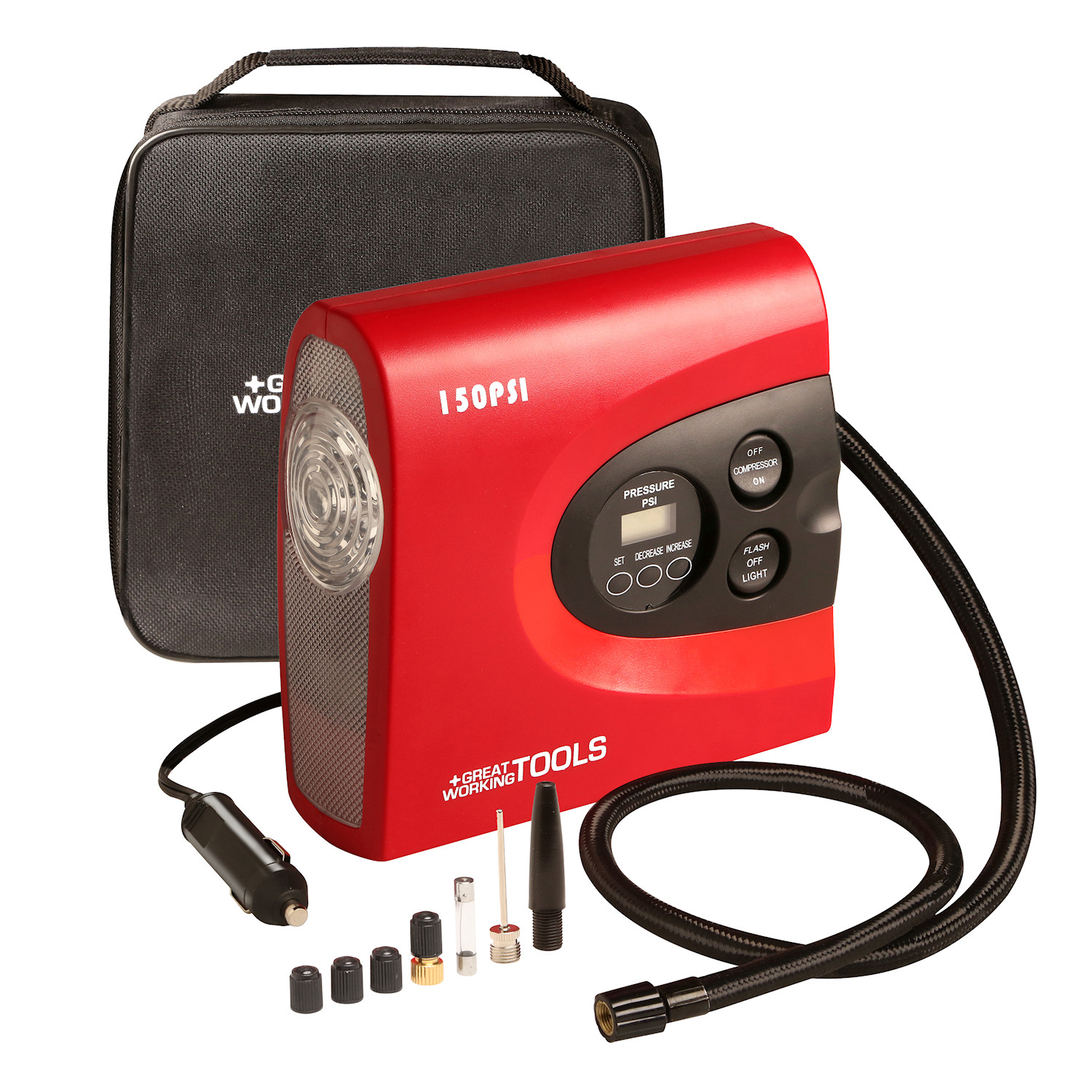 Great Working Tools Portable Air Compressor