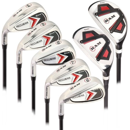 Ram Golf Accubar Mens Left Hand All Graphite Iron Set 6-PW - HYBRID INCLUDED