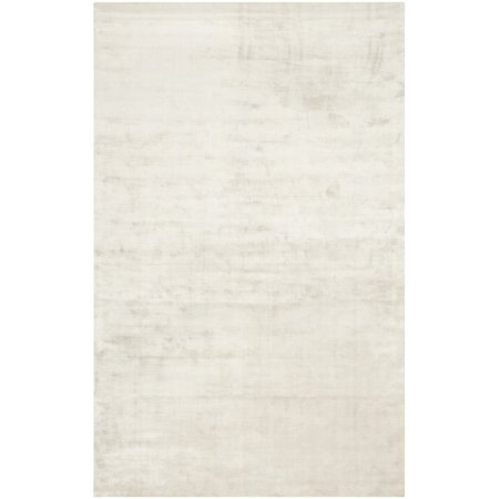 Safavieh Mirage 9' X 12' Loom Knotted Viscose Pile Rug in Silver - image 3 of 3