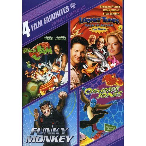 4 Film Favorites: Family Comedies: Space Jam / Looney Tunes Back In Action / Funky Monkey / Osmosis Jones (2-Disc) (Full Frame)
