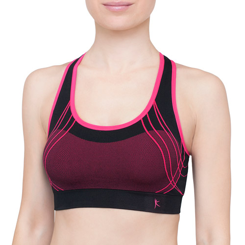 Danskin Now Seamless Sports Bra with pads, High Impact