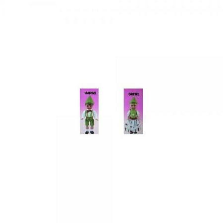 McDonalds Happy Meal Madame Alexander Hansel & Gretel Dolls Toy #5 & #6 2010