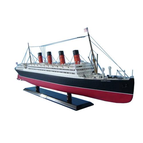 Hand Craft Model Handcrafted Nautical Decor RMS Mauretani...