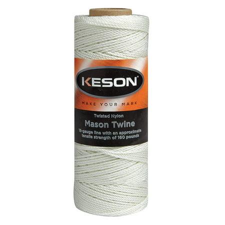 - KESON MASON TWINE 1090 FT L NYLON WHITE WT1090
