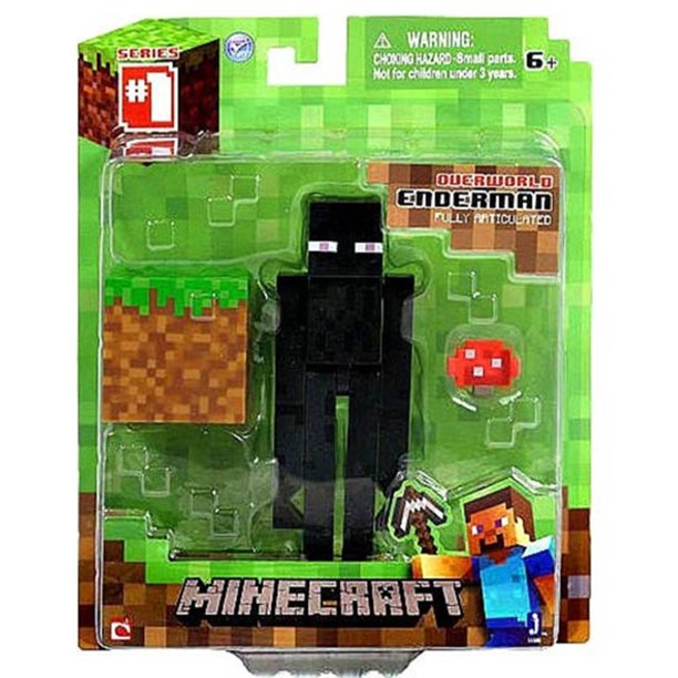 Minecraft Core Enderman Action Figure Walmart Com Walmart Com
