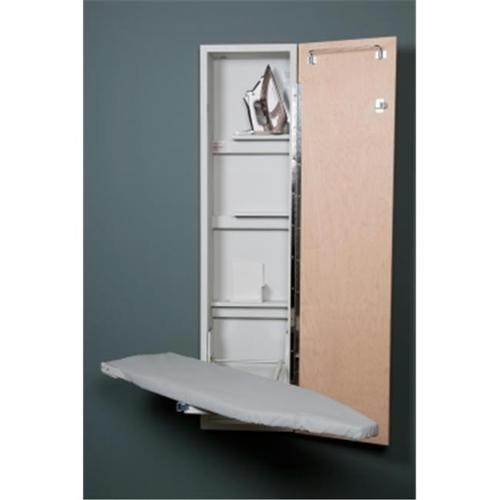 Iron-A-Way ANE-46 With Flat White Door, Left Hinged