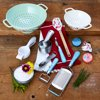 The Pioneer Woman, Spring and Frontier Collection 18-Piece Complete Cooking and Prep Set, Teal