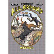 Buy Enlarge 0-587-03801-2P12x18 All Around Weekly- Cyclone  The Horse Runner- Paper Size P12x18