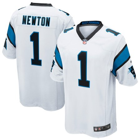 best service 5e070 324a1 Cam Newton Carolina Panthers Nike Youth Game Jersey - White