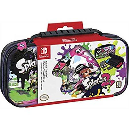 Nintendo Switch Game Traveler Deluxe Travel Case - Splatoon - Nintendo (Nintendo Switch Game Traveler Deluxe System Travel Case)