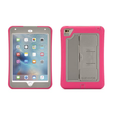 Griffin Survivor Slim for iPad mini 4, All the drop protection of our original Survivor, slimmed down for your iPad