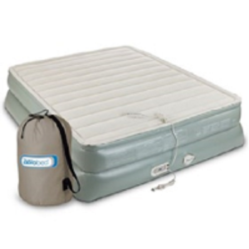 "Aerobed Premier 3-Layer 20"" Queen Air Mattress with Built-In Pump by Aerobed"