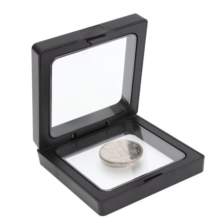 """3D 3.5x3.5"""" Square Coin Jewelry Protect Show Case Display Frame Floating Holder - image 3 of 6"""