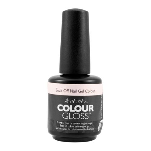 Artistic Nail Design 0.5oz Soak Off Gel Colour Nail Polish White Shimmer, ENGAGED, 03106