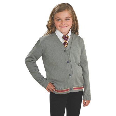 Harry Potter Hermione Halloween Costume (Girl's Hermione Sweater & Tie Halloween Costume - Harry)