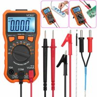 ESYNIC 2000 Counts Digital Multimeter 8233D TRMS NCV AC DC Current Voltage Temperature Transistor (hFE) Diode and Continuity Tester