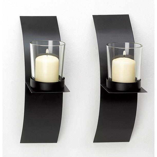 Wall Sconce Candle Bathroom Modern