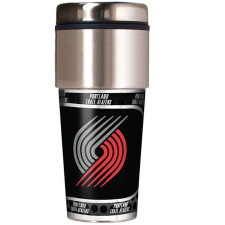 Trail Blazers Halloween (NBA Portland Trail Blazers 16-Ounce Travel Tumbler with)