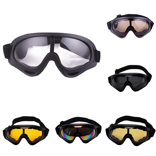 Micelec Sports Snowmobile Snowboard Winter Ski Goggles Dual-Lens Anti Fog UV Glasses by