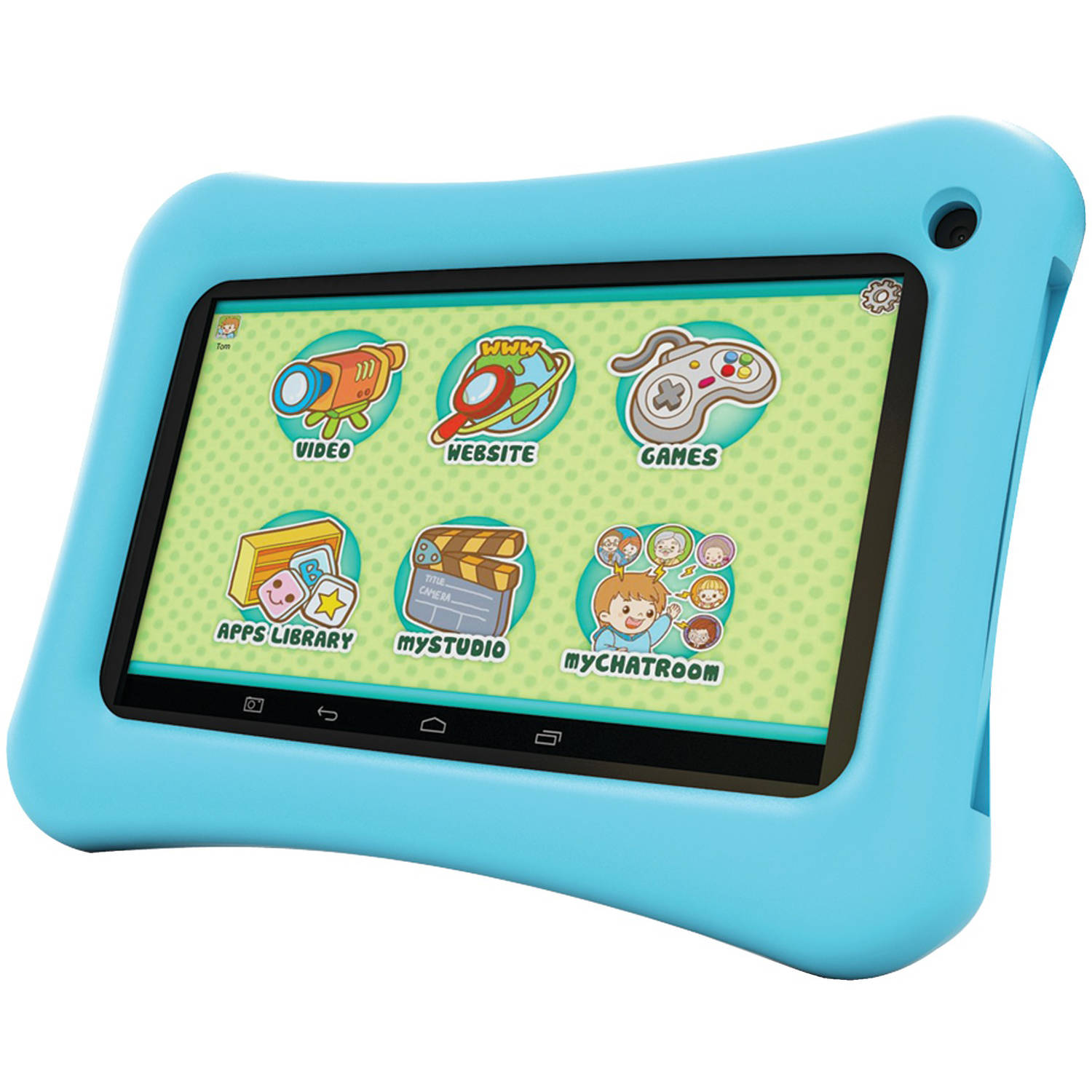 "Hipstreet HS-7DTB25-8PPBL 7"" 8GB Dual-Core Tablet (Blue)"