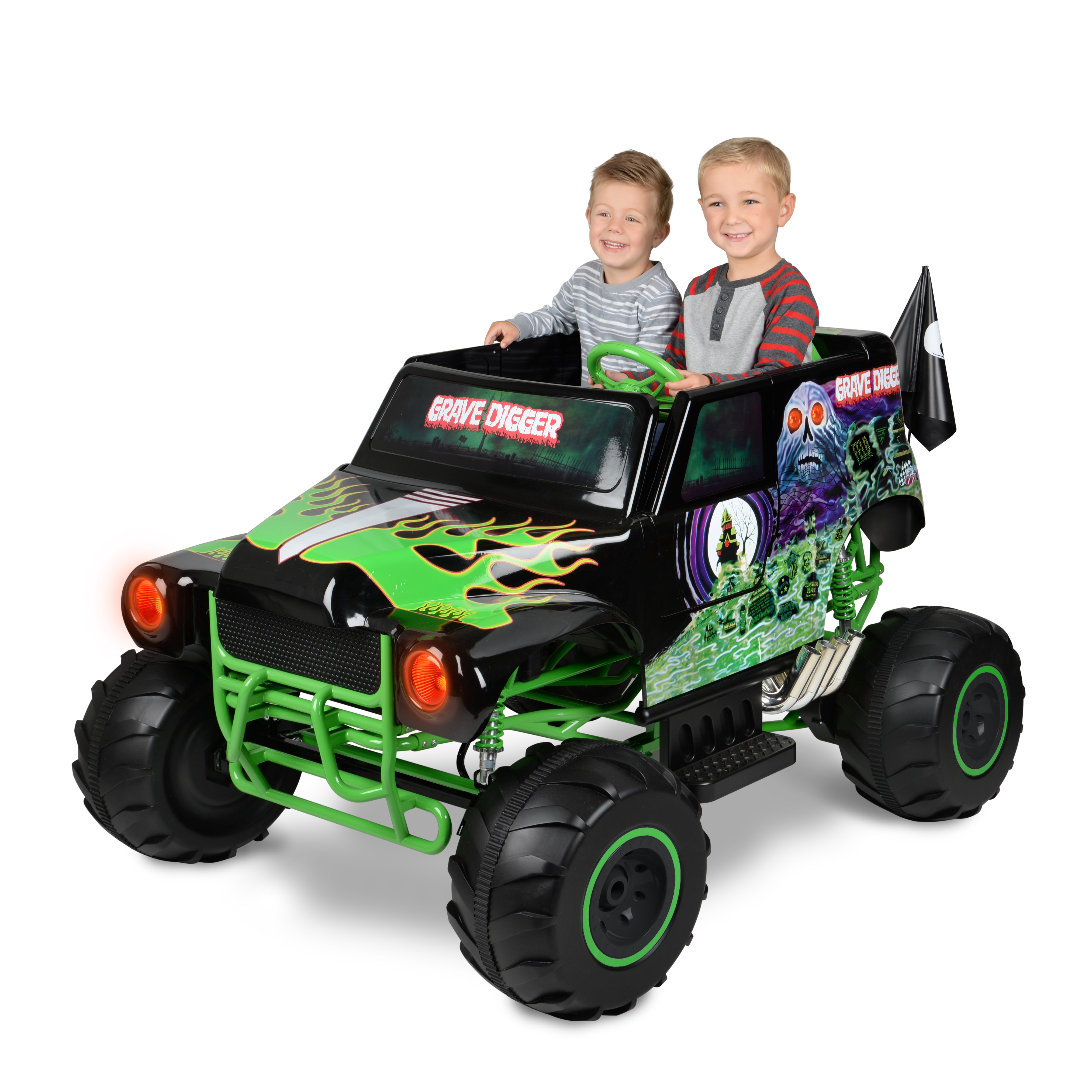 Monster Jam Grave Digger 24-Volt Battery Powered Ride-On