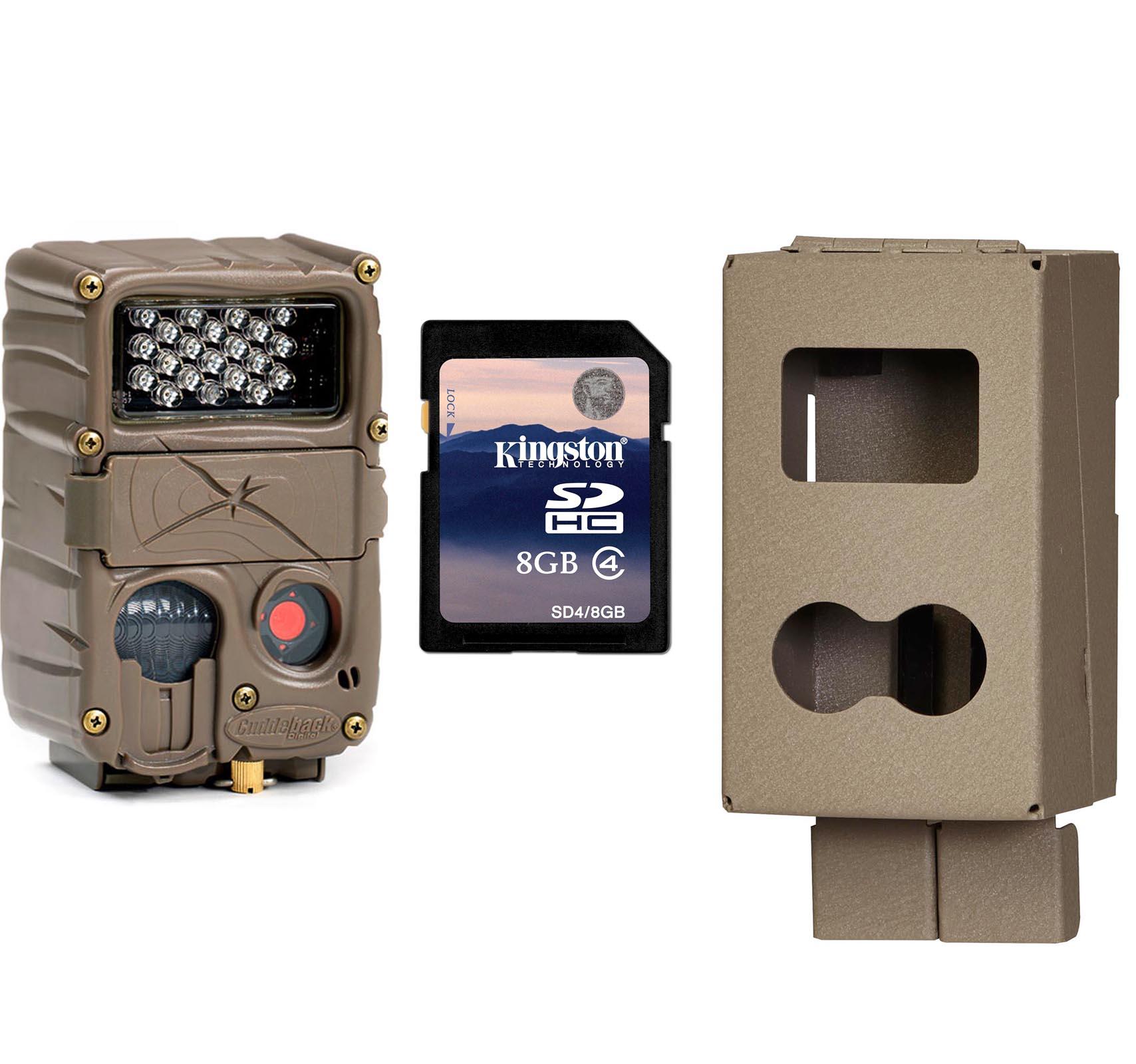 CUDDEBACK Model E2 Long Range IR Micro 20MP Game Hunting Camera w/Case & SD Card