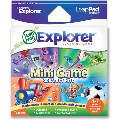 LeapFrog Explorer Learning Game: Mini Game Greatest Hits