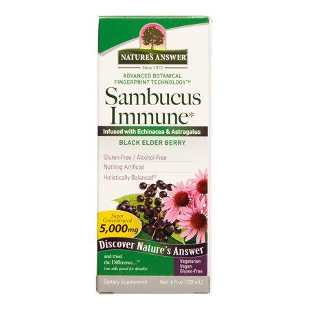 Nature's Answer Sambucus Immune Support, 4 Fl Oz