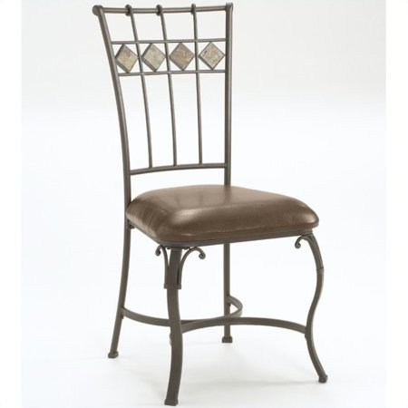 Hillsdale Lakeview Dining Chairs Set of 2 Slate Metal Finish – Hillsdale Dining Chairs