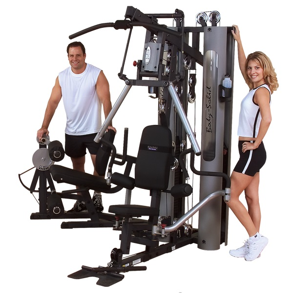 Body-Solid G10B Bi-Angular Home Gym W/ GLP Leg Press | 2-210 lb Weight Stacks