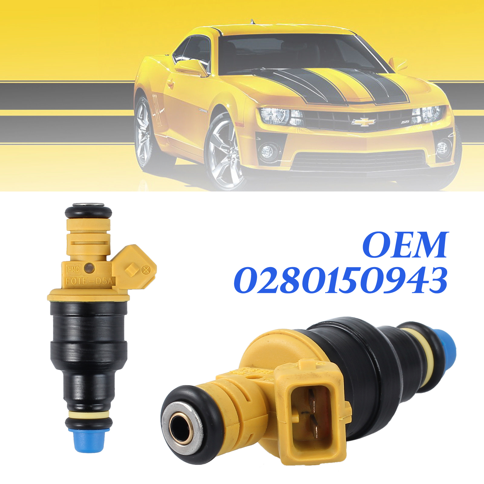 8 Flow Matched Fuel Injectors For Ford F150 F250 F350 4.6 5.0 5.4 5.8 0280150718