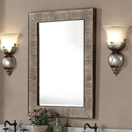 Mirror Wall Wall Decor Mirror Rustic Style 26 Inch Wide