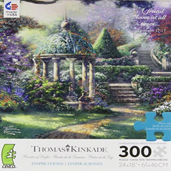 Ceaco Thomas Kinkade Gazebo of Prayer Jigsaw Puzzle