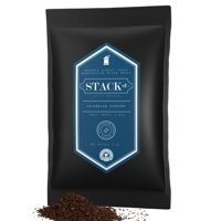 Colombian Supremo Ground Coffee Beans - Small Batch Dark Roast, Certified Organic - 50/ 3 oz packets - Handcrafted Micro Roast By Stack Street