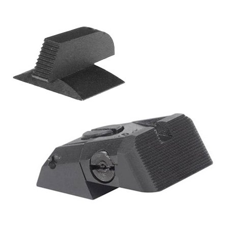 Kensight DAS 1911 Defense Adjustable Rear Sight with Serrated Blade and